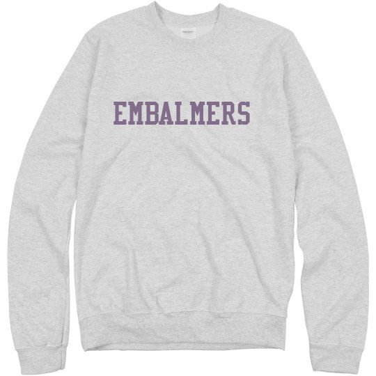 Embalmers Sweatshirt Grey
