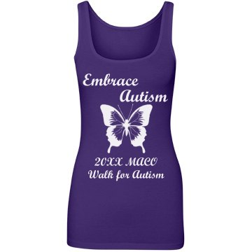 Embrace Autism Butterfly