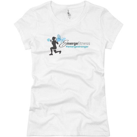 Emerge Fitness Fitted Ladies Shirt
