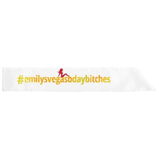 #emilysvegasbdaybitches