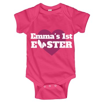 Emma's 1st Easter Bunny