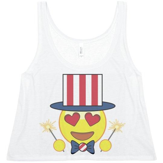 Emoji July 4th Besties 2