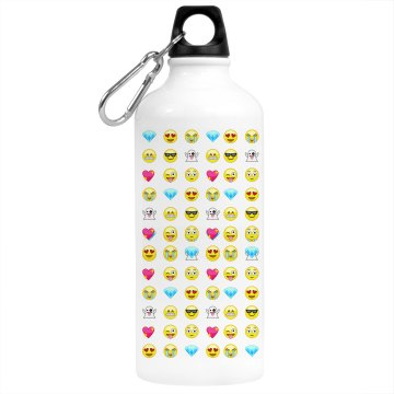 Emojis Water Bottle