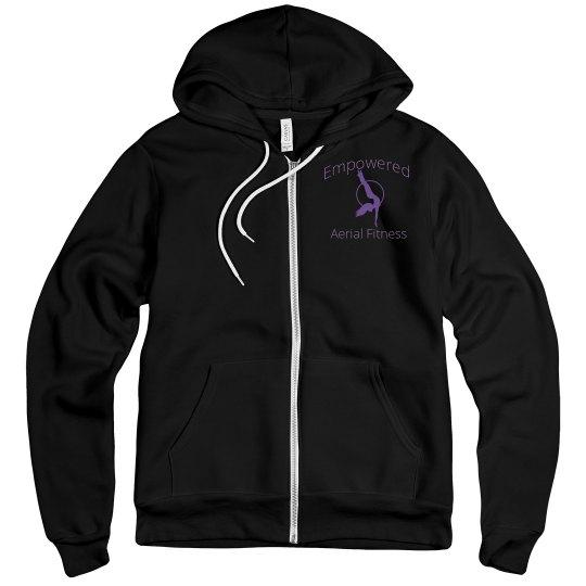 Empowered Logo Girl Mid weight hoodie
