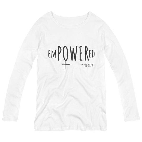 empowered pg shirt