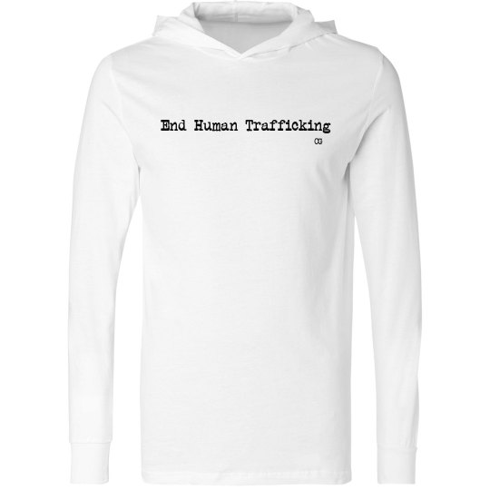 End Human Trafficking light weight pullover