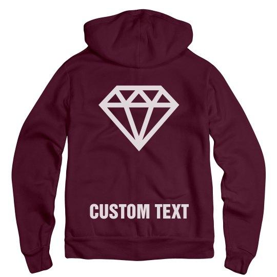 Engaged Custom Text Hoodie Bride