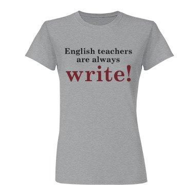 English Teachers...