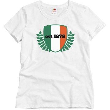 Establish Irish 1978