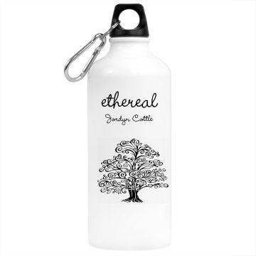 Ethereal by: Jordyn Cottle water bottle