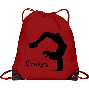 Evelyn cheerleader bag