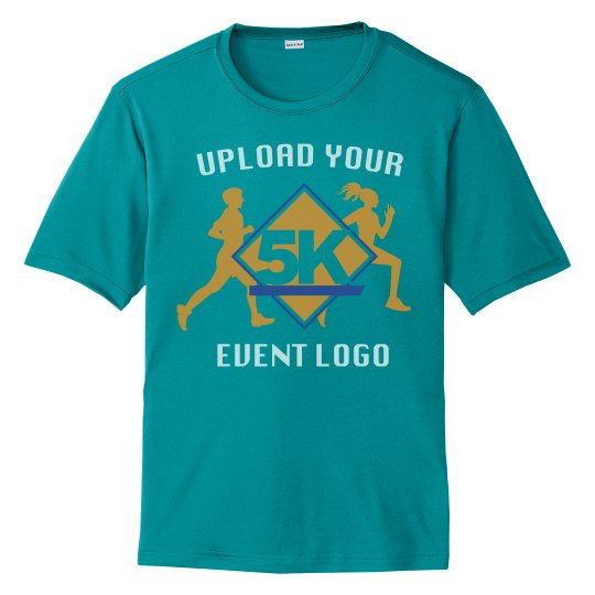 Event Logo Custom Upload Unisex Performance Tee