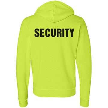 Event Security Hoodie