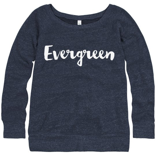 Evergreen Script Sweatshirt