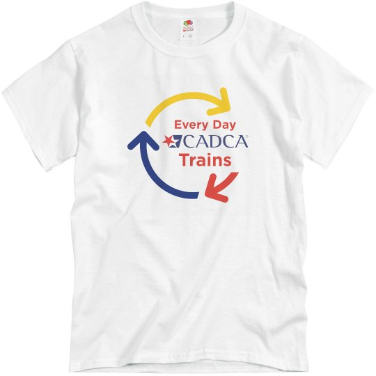 Every Day CADCA Trains Tee