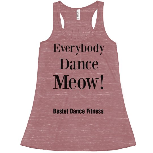 Everybody Dance Meow! - Flowy Tank