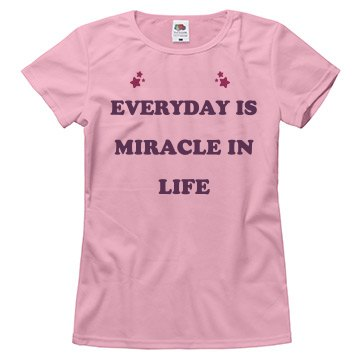 Everyday Is Miracle In Life