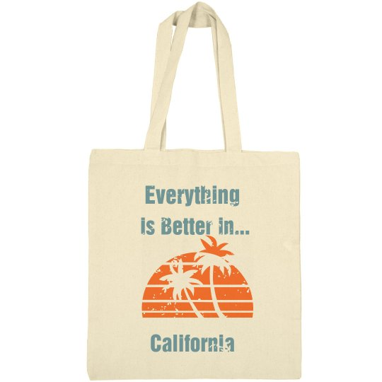 Everything Is Better Tote