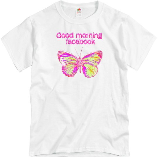 EXCLUSIVE good morning fb w/ butterfly