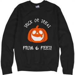 Trick or Treat from 6 feet