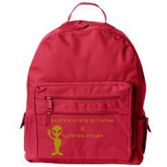 TK X ESC Gold Bookbag