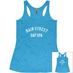 TEAM Main Street Ladies Slim Fit Racerback Tank