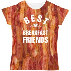 Best Breakfast Friends Bacon