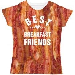 Best Breakfast Friends Bacon