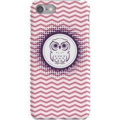 Purple Owl iPhone 5 Case