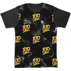 Keep It 100 Emoji All Over Print
