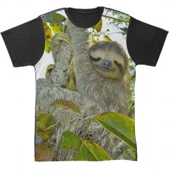 Happy Sloth All Over Print