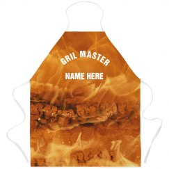 Custom Printed Fire Grill Master