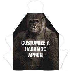 Custom All Over Print Harambe Apron