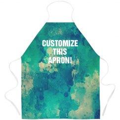 Custom Texture All Over Print Apron