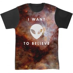 I Want To Believe All Over Galaxy