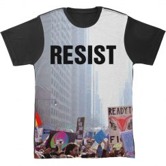 Resist All Over Print Women's March