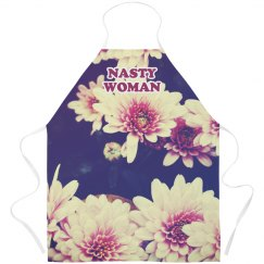 Nasty Woman Floral Apron