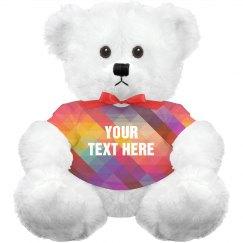 Geometric Custom Bear
