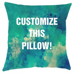 Customizable All Over Print Pillow