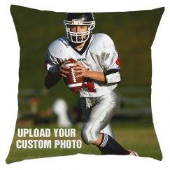 Custom Sports Photo Pillow