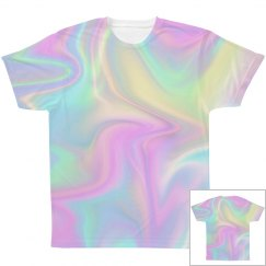 All Over Print Hologram Tshirt