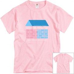 Pink YpsiBuilt  Unisex T-shirt