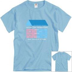 Blue YpsilantiBuilt Unisex T-shirt