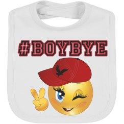 Trendy Boy Bye Emoji Baby Boy