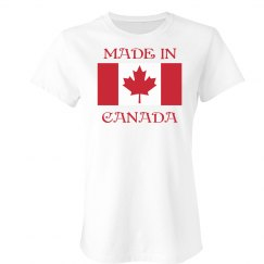Proudly Made In Canada