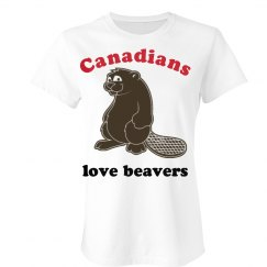 Canadians Love Beavers
