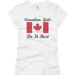 Canadian Girls Do It Best