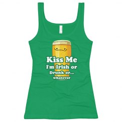 Kiss My Irish Drunk Self