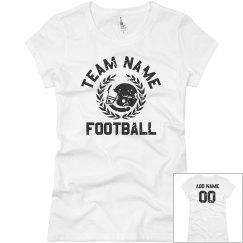 Vintage Personalized Football Team