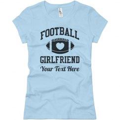 Personalized Football Girlfriend